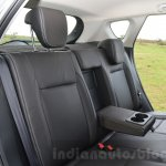 Maruti S-Cross rear seat armrest Review