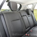 Maruti S-Cross rear seat back Review
