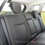 Maruti S-Cross rear seat back Review