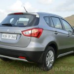 Maruti S-Cross rear three quarter Review