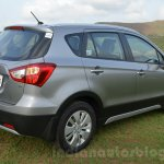 Maruti S-Cross rear three quarters Review