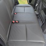 Maruti S-Cross seat rear Review