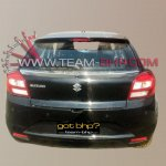 Maruti YRA rear fully exposed
