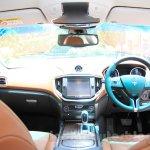 Maserati Ghibli dashboard India reveal