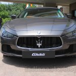 Maserati Ghibli front India reveal