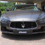 Maserati Ghibli front India reveal