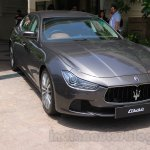 Maserati Ghibli front quarter India reveal