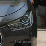 Maserati Ghibli headlight India reveal