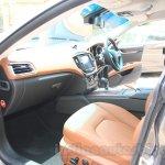 Maserati Ghibli interior India reveal