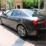 Maserati Ghibli rear end India reveal