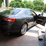 Maserati Ghibli rear quarter India reveal