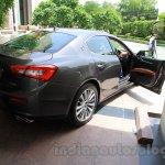 Maserati Ghibli rear quarter India reveal