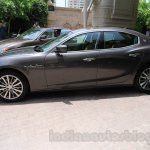Maserati Ghibli side India reveal