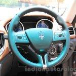 Maserati Ghibli steering India reveal