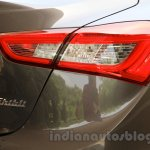 Maserati Ghibli taillight India reveal