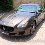 Maserati Quattroporte front quarter India reveal