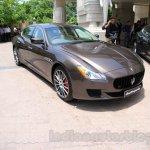 Maserati Quattroporte front quarters India reveal