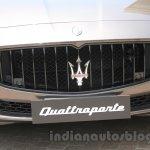 Maserati Quattroporte grille India reveal