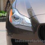 Maserati Quattroporte headlight India reveal
