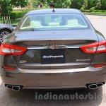 Maserati Quattroporte rear India reveal