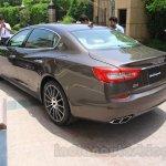 Maserati Quattroporte rear quarters India reveal