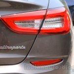 Maserati Quattroporte taillight India reveal
