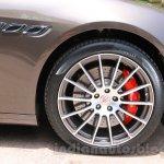 Maserati Quattroporte wheel India reveal