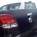 Mazda BT-50 2016 taillamp spyshot