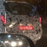Renault Duster facelift bootlid India spied