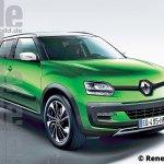 Renault sub-4m SUV rendering