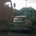 Tata Kite rear Electronics City spied
