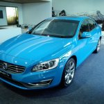 Volvo S60 T6 front quarters India launch