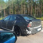 Volvo S90 rear test mule spied in EU, launch in 2016