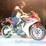 2015 Honda CBR 650R side (1) launched