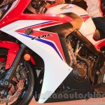 2015 Honda CBR 650R side fairing (1) launched