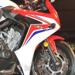 2015 Honda CBR 650R side fairing launched