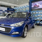 2015 Hyundai Elite i20 front quarter launched in Nepal