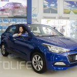 2015 Hyundai Elite i20 front three quarter launched in Nepal