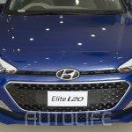 2015 Hyundai Elite i20 grille launched in Nepal