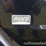 2015 Mahindra XUV500 (facelift) AWD badge review