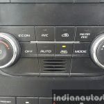 2015 Mahindra XUV500 (facelift) HVAC controls review