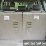 2015 Mahindra XUV500 (facelift) boot space with seats up review