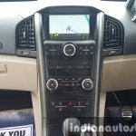 2015 Mahindra XUV500 (facelift) center console review
