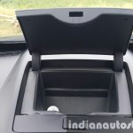 2015 Mahindra XUV500 (facelift) central cubby hole review