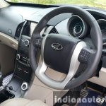 2015 Mahindra XUV500 (facelift) driver's area review