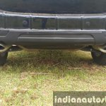 2015 Mahindra XUV500 (facelift) dual exhaust review