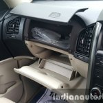 2015 Mahindra XUV500 (facelift) dual glovebox review