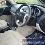 2015 Mahindra XUV500 (facelift) front cabin review