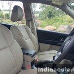 2015 Mahindra XUV500 (facelift) front seats review