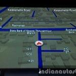 2015 Mahindra XUV500 (facelift) navigation review